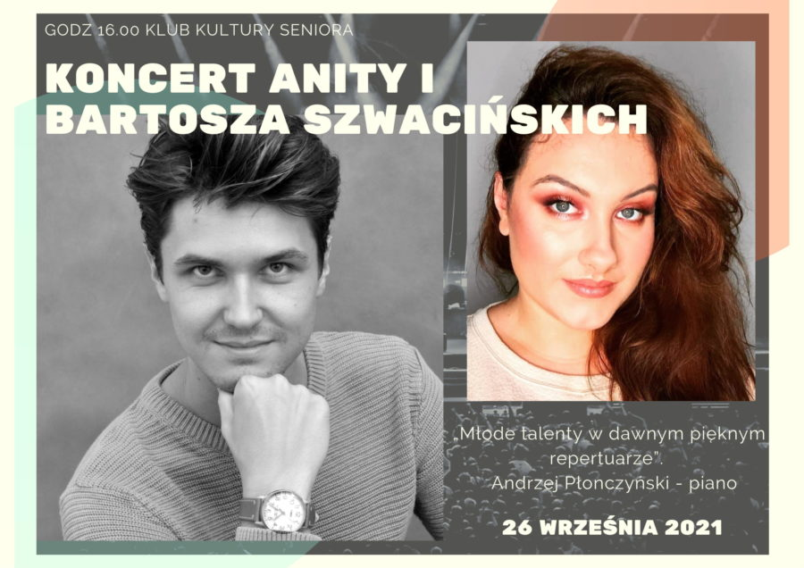 Koncert Anity i Bartosza Szwacińskich